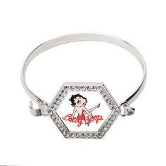 Betty Boop Hexagon Bracelet