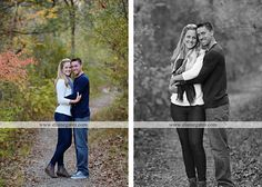 Mechanicsburg Central PA engagement portrait photographer outdoor couple love hug kiss holding hands water lake dock pinchot state park woods trees path field fall sunset orchard old barn {Katie L.} « Elaine Gates Photography