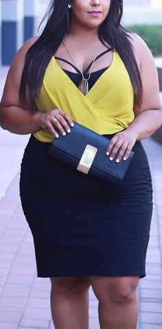 Curvy Fashion Inspiration for Women // #plus #size #fashion #women #outfits