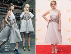 Kiernan Shipka In Antonio Berardi - 2014 Emmy Awards - Red Carpet Fashion Awards