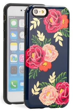 Free shipping and returns on Sonix 'Lolita' iPhone 6 Plus Case at Nordstrom.com. Form meets function on a stylish case printed with lush roses and outfitted with a shock-absorbent rubber core and scratch-resistant polycarbonate shell.