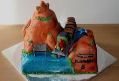 Big thunder mountain cake