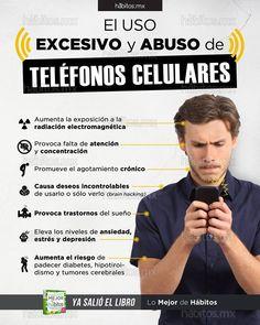 Hábitos Health Coaching | El uso excesivo y abuso de teléfonos celulares