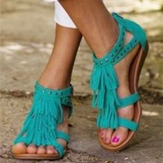 I must get some 😍Minnetonka Sandals, Suede Fringe Sandals Fringe Sandals, Cute Sandals, Cute Shoes, Me Too Shoes, Shoes Sandals, Minnetonka Sandals, School Shoes, Comfortable Sandals, Crazy Shoes