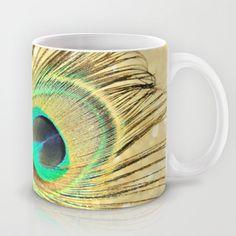 Festive Plumage Mug by Lisa Argyropoulos - $15.00