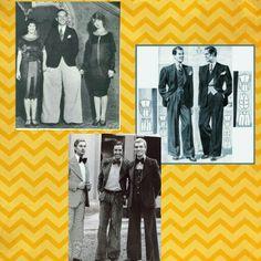 """PANTALONES OXFORD. Los Jóvenesjóvenes siempre trataron de diferenciarse de sus mayores y establecer sus propias modas. Ya en los años veinte los estudiantes de Oxford y Cambridge violaban por primera vez la práctica de Eduardiana de usar diferentes tipos de vestimenta para distintos momentos del día.  En 1924 en la Universidad de Oxford, un pequeño grupo de estudiantes varones comenzaron a usar unos pantalones que nunca habían sido usados por sus padres.  Conocidos como """"bolsas de…"""