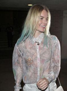 Kate Bosworth blue hair