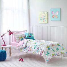 Adairs Kids Girls Heidi - Bedroom Quilt Covers & Coverlets - Adairs Kids
