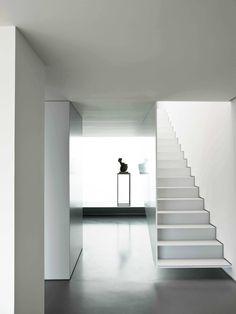 Steel stair by Correia Ragazzi Architects Casa Ricardo Pinto. Photo by Luis Ferrira Alves