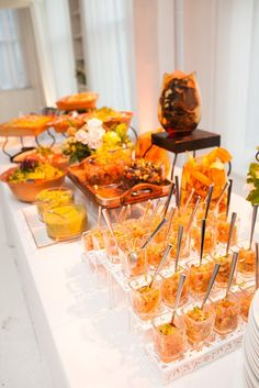 wedding food station ideas   Unique Wedding Reception Ideas: A ...