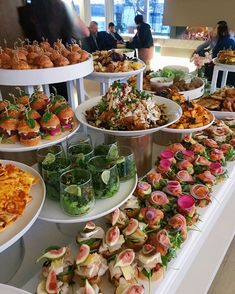 New Ideas For Party Food Buffet Catering Snacks Party Food Buffet, Appetizer Buffet, Appetizers Table, Appetizer Recipes, Catering Buffet, Appetizer Table Display, Catering Display, Catering Food, Catering Ideas