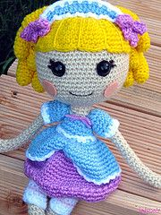 Little Baa Peep (ladynoir63) Tags: doll crochet amigurumi crocheted lalaloopsy