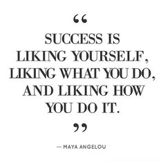 Find what success means to you.