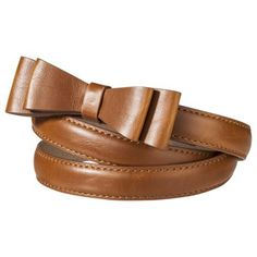 leather bow belt. need!