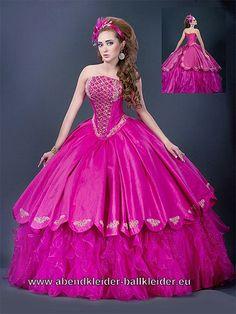 Mein Ballkleid Abendkleid in Pink