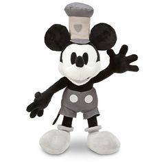 Steamboat Willie Mickey Mouse Plush - 17'' | Plush | Disney Store