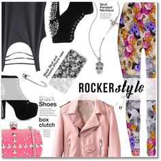How To Wear 03.08.16 #rockerstyle Outfit Idea 2017 - Fashion Trends Ready To Wear For Plus Size, Curvy Women Over 20, 30, 40, 50
