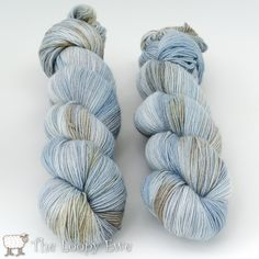 Dove in Sock Yarn from Hedgehog Fibres at The Loopy Ewe ($29.75)