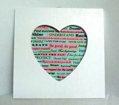 All teens should feel good about themselves. Here's a craft to inspire this!