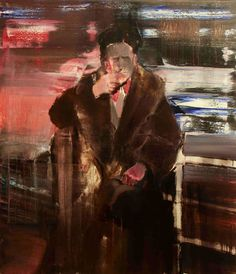 "Adrian Ghenie - ""Duchamp"", 2009, oil on canvas, 125 X 105 cm"