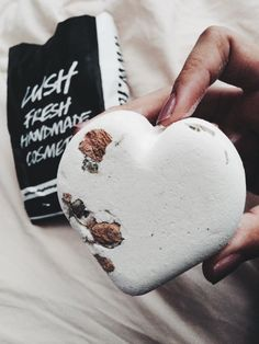 Lush Cosmetics Tisty Tosty Enchanting rose love spell Bath Bomb, can be purchased in Lush Cosmetics store on 3rd street promenade. vegan♡