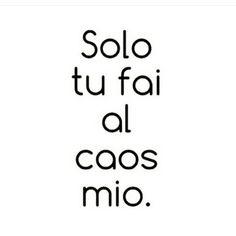 Solo tu ...