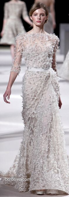Elie Saab Haute Couture Spring Summer 2011 Collection Would totally rock this as my wedding gown!