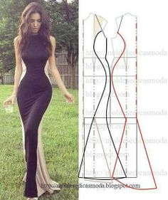 sewing - wow!  who needs to diet with a dress like this!