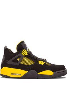 cfca0895737 JORDAN JORDAN AIR JORDAN 4 RETRO SNEAKERS - BLACK.  jordan  shoes