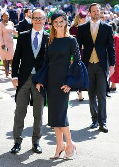 da92e03c352 Meghan Markle's 'Suits' Co-Stars Make Stylish Entrance at the Royal Wedding