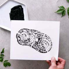 Woodcut Stamp Art This unique stamp art is a woodcut above the rest. The post Woodcut Stamp Art appeared first on Best Pins. Wood Crafts, Diy And Crafts, Arts And Crafts, High School Art Projects, Diy Artwork, Creation Deco, Art Graphique, Nature Crafts, Craft Videos
