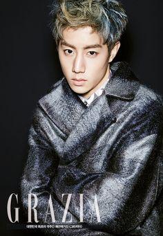 Mark (GOT7)séance photo pour le magazine de mode GRAZIA Korea