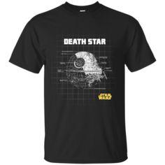 Star Wars- Death Star Schematics T Shirt