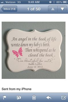 Baby Memory Plaque, New Born Memory Plaque on Etsy, $29.95