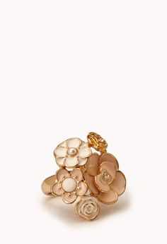 Garden Party Cocktail Ring | FOREVER21 - 1000111442