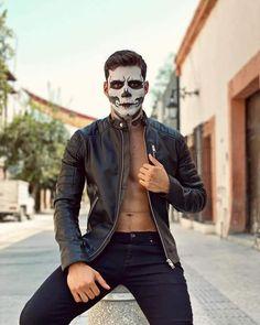 Sexy Men, Leather Jacket, Leather Men, Superhero, Jackets, Halloween, Fashion, Men, Make Up