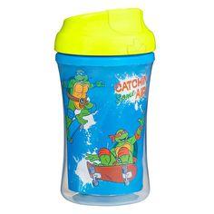 Gerber Graduates Teenage Mutant Ninja Turtles 9 Ounce Insulated Cup by NUK, Multicolor Teenage Turtles, Teenage Mutant Ninja Turtles, Insulated Cups, Cute Cups, Baby Bottles, Baby Kids, Baby Boy, Sippy Cups, Tmnt