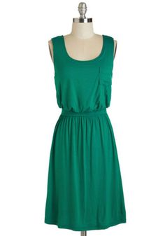 ModCloth Mid-length Sleeveless A-line Positive Perspective Dress