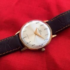 Russian Watch Luch 23Jewels Gold Plated Ultra Slim Cal.2209 Mens Mechanical #Luch #Luxury