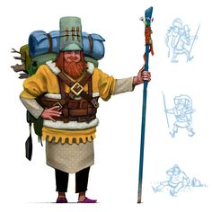 ArtStation - Character Concept, Kyle Youngblom