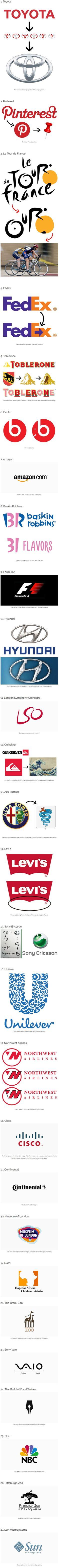 The Hidden Meaning Inside Famous Logos - Album on Imgur