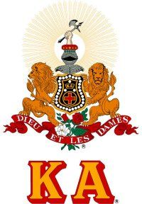 Kappa Alpha Order. This organization changed my life in ways I would have never thought possible. Rush KA