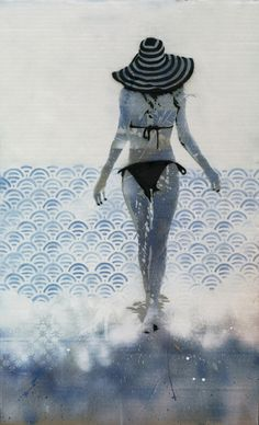 Summer Stencil Art Print
