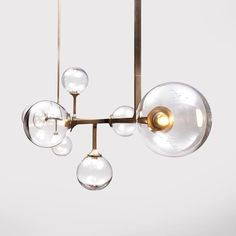 Detail of our newest addition to Lumifer lighting collection: HELIX Pendant/ Horizontal Light (Brass, Handblown Glass and LED) #Lumifer #lighting #Cassina #CassinaOfficial #CassinaSoho #HelixCollection #HelixLighting #JavierRobles #MadeInNYC