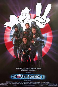 1989 Ghostbusters II Movie Poster  Original by OutofCopenhagen