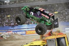 Monster Truck Show. Bmo harris, Rockford, Illinois