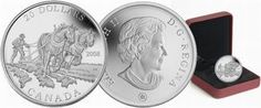 Canada 2008 Agriculture Trade / Farmer Plowing with Horses $20 Pure Silver Proof - Talisman Coins