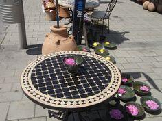 Tables, Outdoor Decor, Handmade, Home Decor, Terracotta, Homemade Home Decor, Mesas, Hand Made, Craft