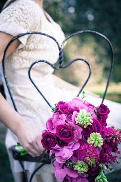 ramos novia morado