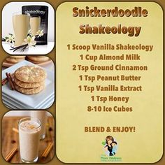 Snickerdoodle Shakeology. www.myshakeology.com/JFA2012
